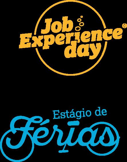 Logos da Job Experience Day e Estágio de Férias